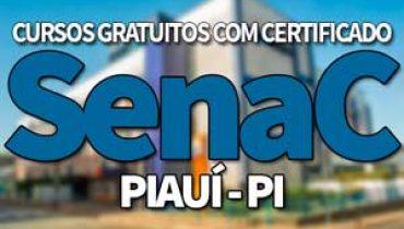 SENAC Cursos Gratuitos PI 2019