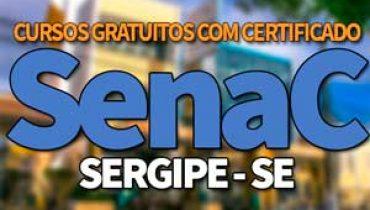 SENAC SE Cursos Gratuitos 2019