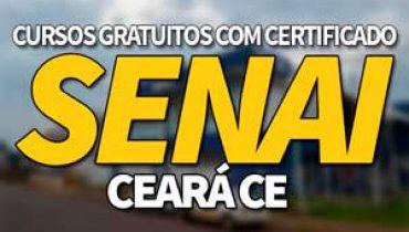 SENAI Cursos Gratuitos CE 2019