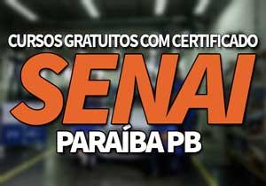 SENAI Cursos Gratuitos PR 2019 → Inscrições e Vagas SENAI 2019
