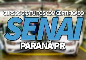 SENAI Cursos Gratuitos PB 2021 → Certificação Online SENAI PB