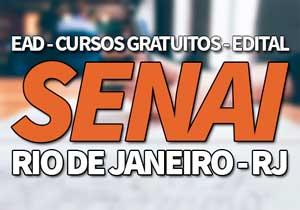 SENAI RJ 2019 → Inscrições Cursos Gratuitos e Jovem Aprendiz