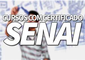 Cursos SENAI com Certificado MEC | Inscrições, Vagas, EAD SENAI