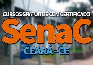 SENAC Cursos Gratuitos CE 2020 | Inscrições CURSOS Senac EAD