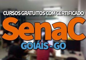 SENAC Cursos Gratuitos GO 2020 | EAD e Jovem Aprendiz SENAC 2020