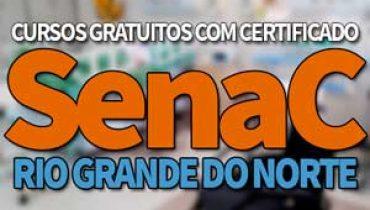 SENAC Cursos Gratuitos RN 2019