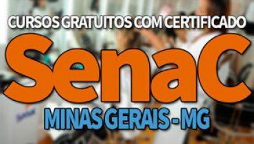 SENAC MG Cursos Gratuitos 2019