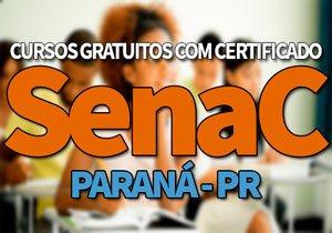 SENAC PR Cursos Gratuitos 2020: Oportunidades, Cursos Gratuitos