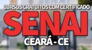 SENAI CE 2019 → Inscrições Cursos Gratuitos SENAI CE 2019