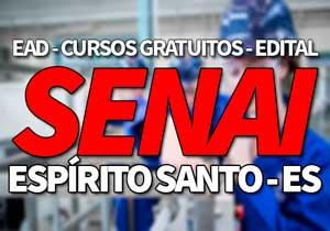 SENAI ES 2019 | Cursos Gratuitos EAD SENAI 2019
