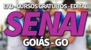 SENAI GO 2019, Processo Seletivo, Cursos Gratuitos e EAD SENAI