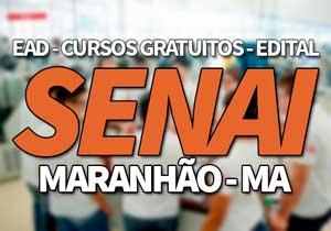 SENAI MA 2019, Cursos Gratuitos e EAD SENAI 2019