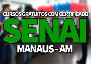 SENAI Manaus AM 2019 → Cursos Gratuitos EAD SENAI 2019