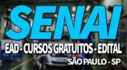 SENAI SP 2019: Inscrições, Cursos Gratuitos e EAD SENAI SP 2019