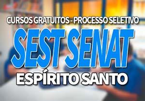 SEST SENAT ES 2020: Cursos Gratuitos Vitória, São Mateus 2020