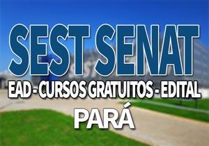 SEST SENAT PA 2020: Cursos Gratuitos Online SEST SENAT 2020