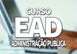Curso EAD Administração Pública Gratuito 2019: Inscrições, Vagas