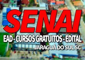 SENAI Jaraguá do Sul SC 2019: Inscrições Cursos Gratuitos SENAI