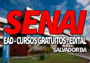 SENAI Salvador BA 2019: Inscrições, Cursos Gratuitos SENAI 2019