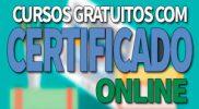 Cursos Gratuitos Online com Certificado MEC: SENAC, SEBRAE, SENAI