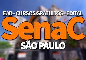 SENAC São Paulo 2020: Bolsas, Cursos Gratuitos, EAD SENAC 2020